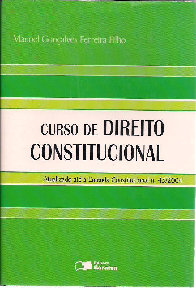 Jose afonso da silva curso de direito constitucional positivo pdf